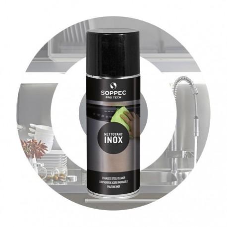 Nettoyant pour surfaces en Inox